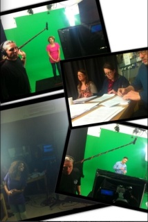 Corporate green screen work